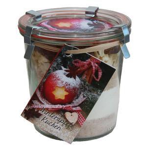 Backmischung Im Glas Winterapfel Kuchen 350g