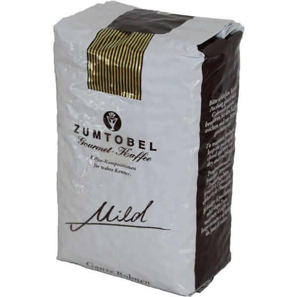 zumtobel gourmet kaffee mild ganze bohnen 500g f r kaffeevollautomaten. Black Bedroom Furniture Sets. Home Design Ideas
