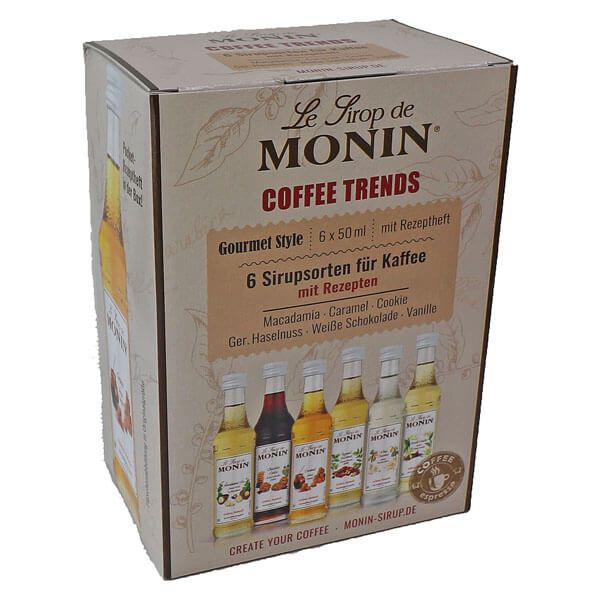 Monin Mini Coffee Sirup Set 6 x 50ml