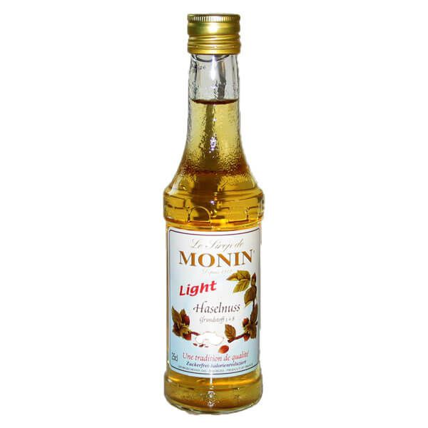Monin Haselnuss Light